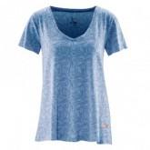 T-Shirt Allover Print Esta Damen Wave