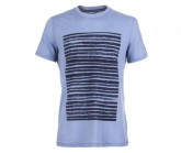 T-Shirt Graphic Herren light stine/water stripe location prin
