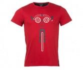 T-Shirt Laag Herren jester red