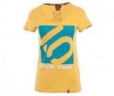 T-Shirt Logo Damen tawny olive