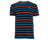 T-Shirt Mindil Herren black stripes