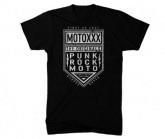 T-Shirt Moto Circuit Herren black