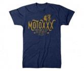 T-Shirt Moto Savage Herren blue
