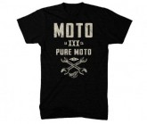 T-Shirt Moto Wrench Herren black