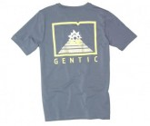 T-Shirt New School Herren Dusty Blue