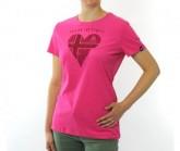 T-Shirt SS Crew Signo Primavera 20 Damen beetroot purple