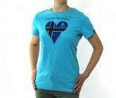 T-Shirt SS Crew Signo Primavera 20 Damen blue atoll