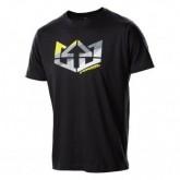 T-Shirt Triband Herren black