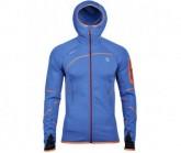 Thermal Jacke Malaspina Herren bright clematis/orange