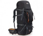 Trekking Rucksack Beta Trail 65+12 Unisex black