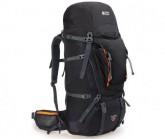 Trekking Rucksack Beta Trail 65+12 Unisex black