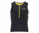 Triathlon Performance Tri Tank Herren black/pure yellow
