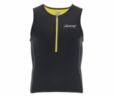 Triathlon Performance Tri Tank Herren black/pure yellow