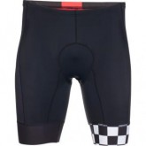 Triathlon Short Cali 8inch Herren black checker