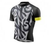 Trikot Cycle Classic SS Full Zip Herren leviathan/black