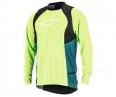 Trikot Drop 2 L/S Herren green/black