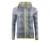 Windjacke Nummi Damen lunar rock grey print