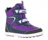 Winterschuh Harlow Kinder purple
